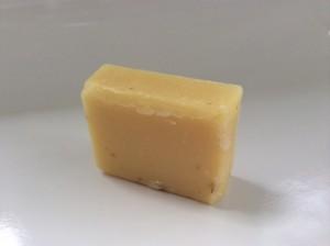 Handmade Cartel Lemongrass Soap Bar Opened