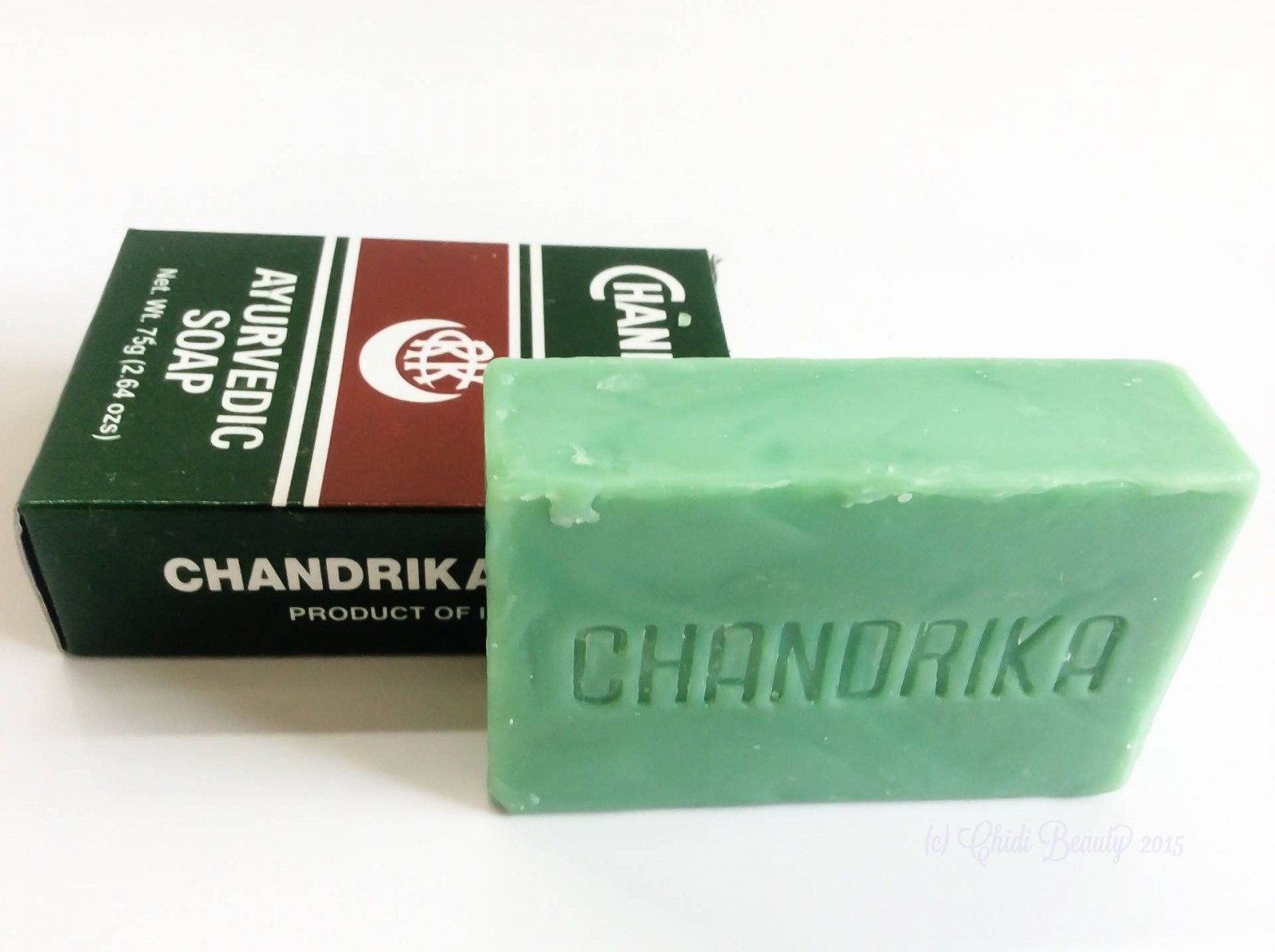 Chandrika Ayurvedic Soap (75 g/2.64 oz)