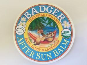 Badger After Sun Balm Packaging