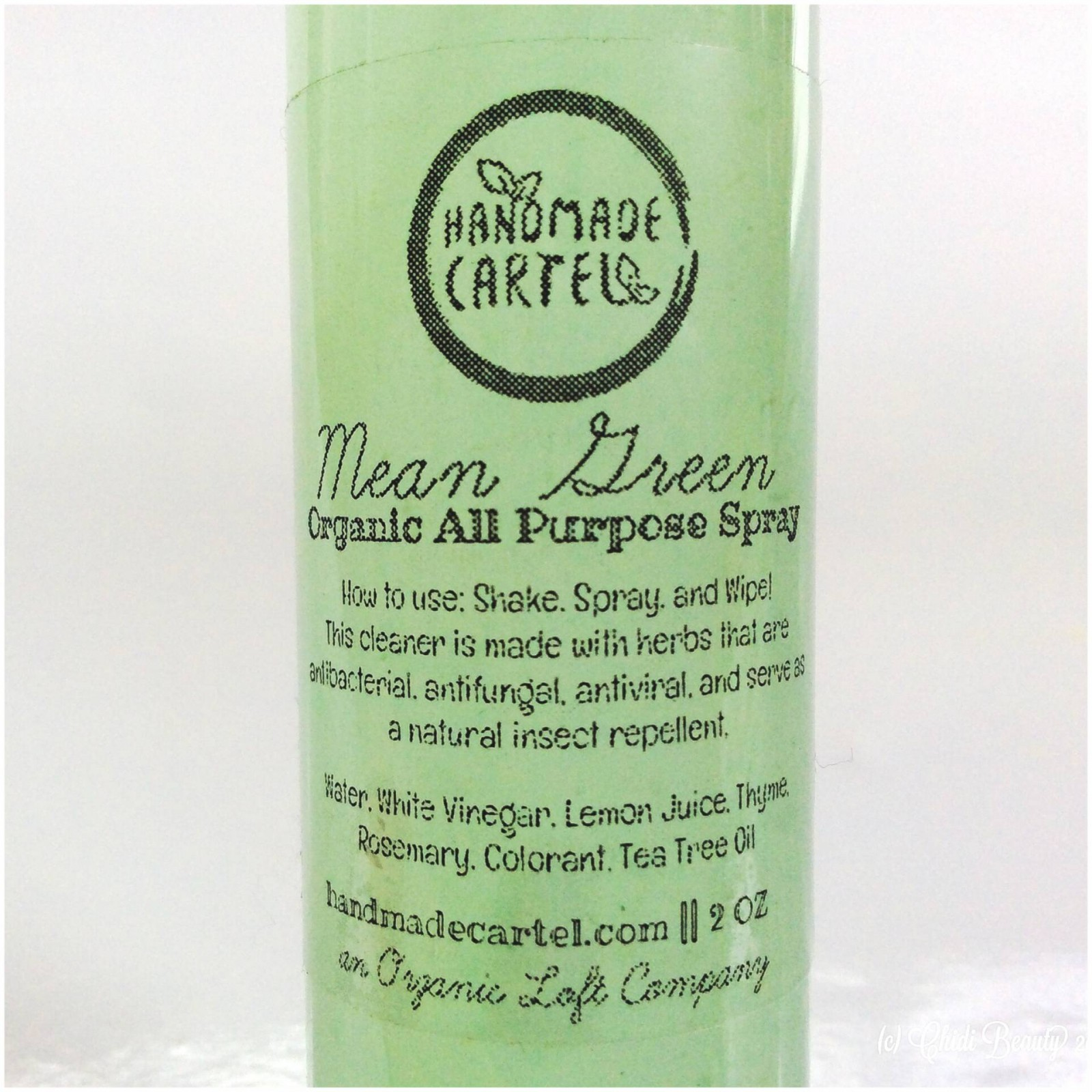Handmade Cartel Mean Green All Purpose Spray Ingredients • chidibeauty.com