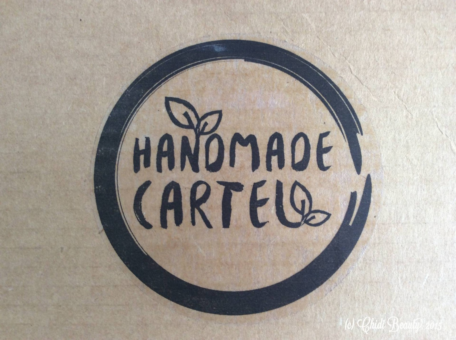 Handmade Cartel Deluxe Subscription Box – September 2015
