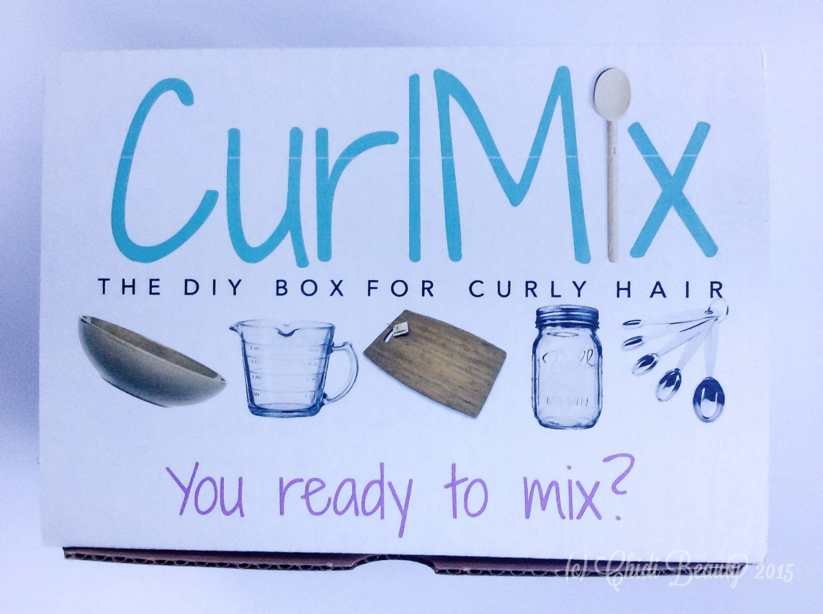 CurlMix Subscription Box - November 2015 Unboxing