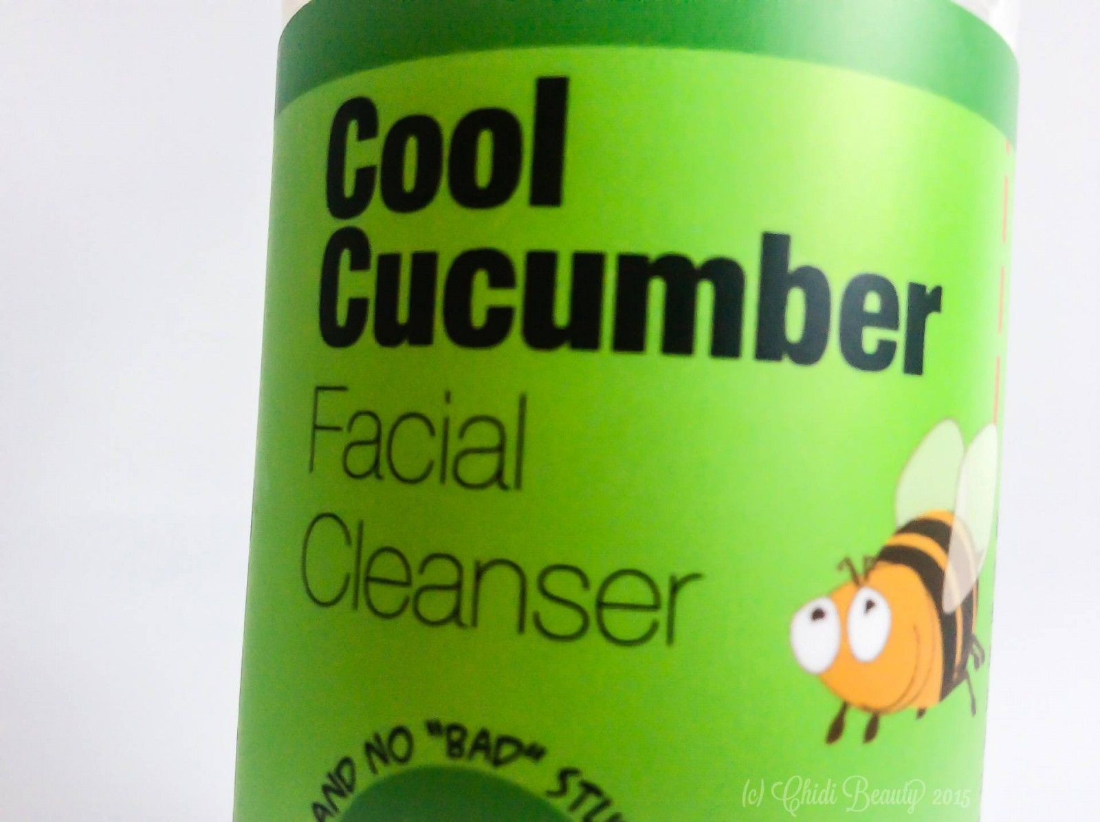 Bubble & Bee Facial Cleanser in Cool Cucumber (3.5 oz)