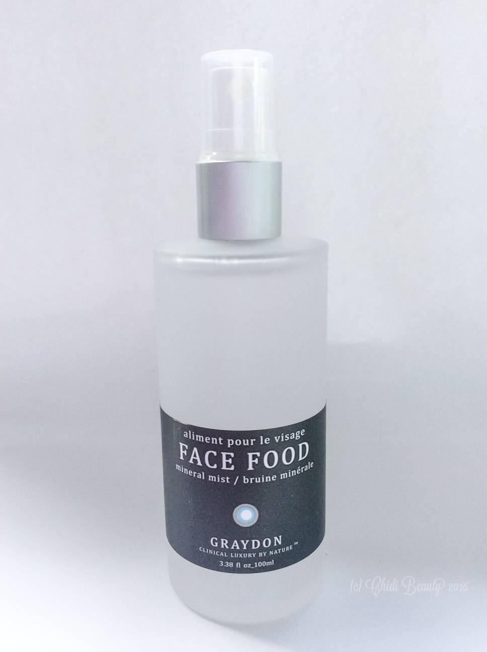 Graydon Face Food Mineral Mist