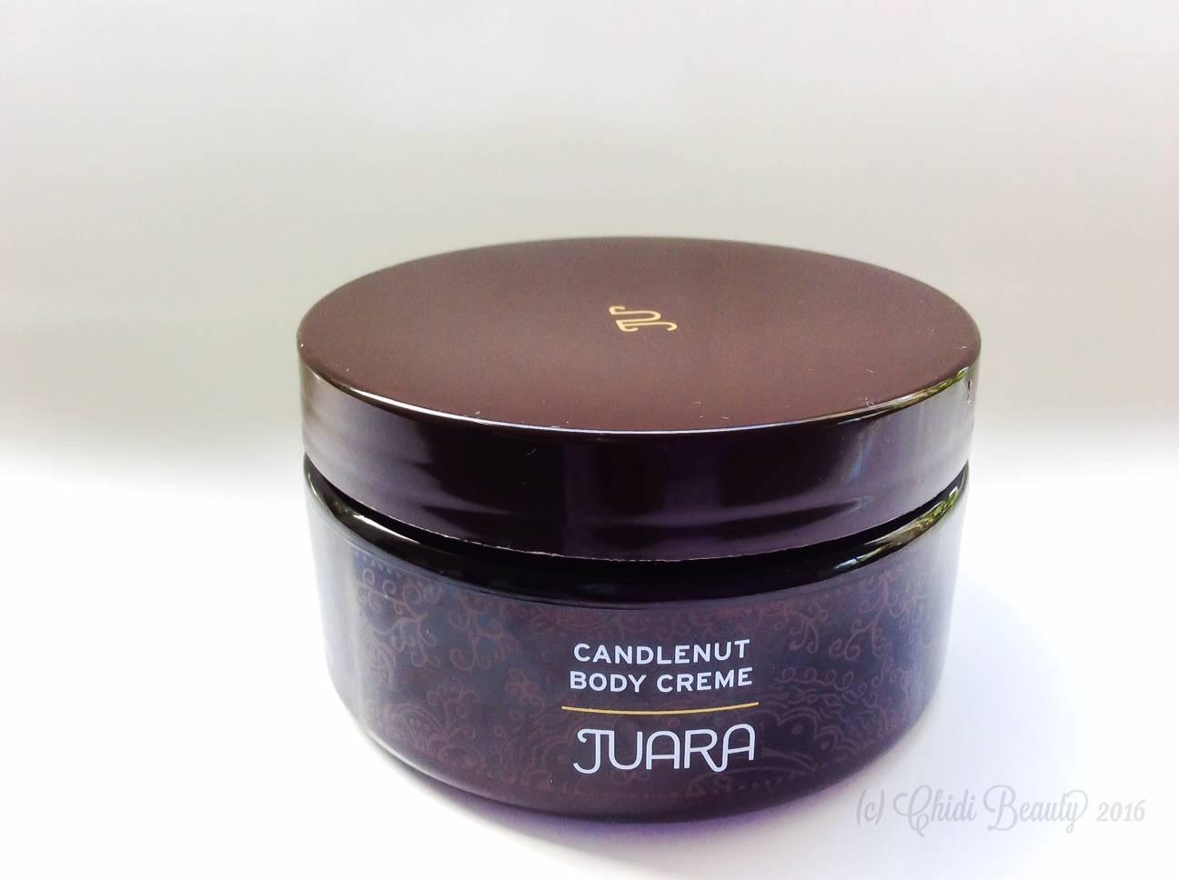 Juara Candlenut Body Creme Container • chidibeauty.com