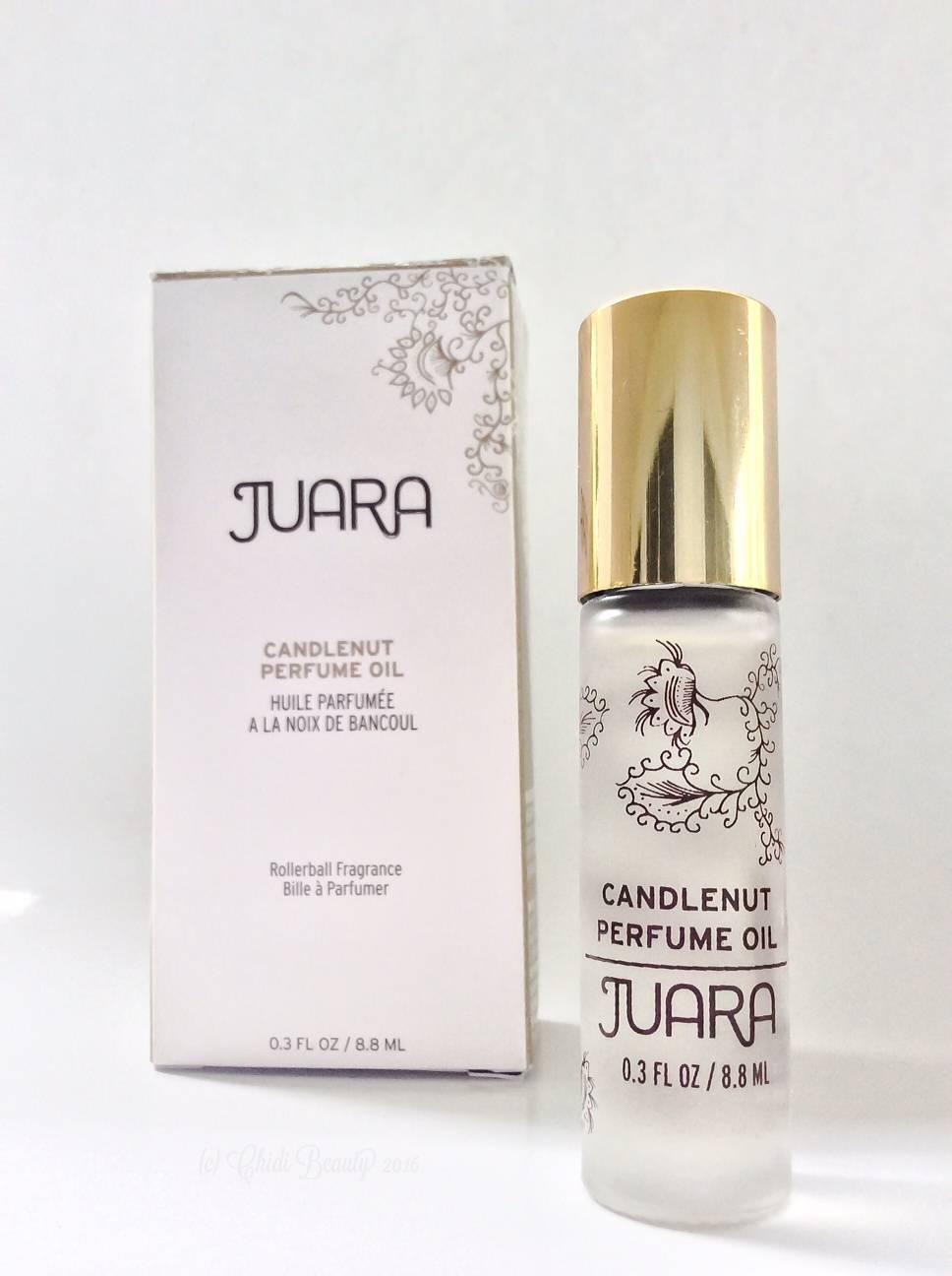 Juara Candlenut Perfume Oil with Box • chidibeauty.com