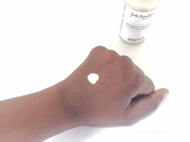 Josh Rosebrook Nutrient Day Cream on African American Skin • chidibeauty.com