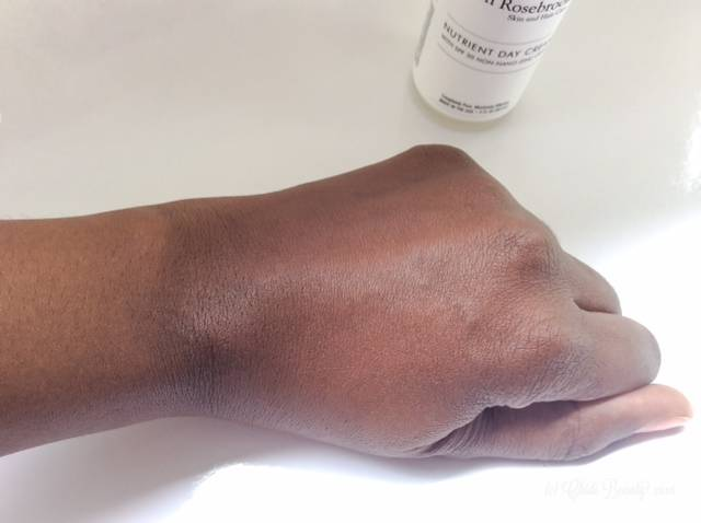 Josh Rosebrook Nutrient Day Cream on Dark Brown Skin • chidibeauty.com