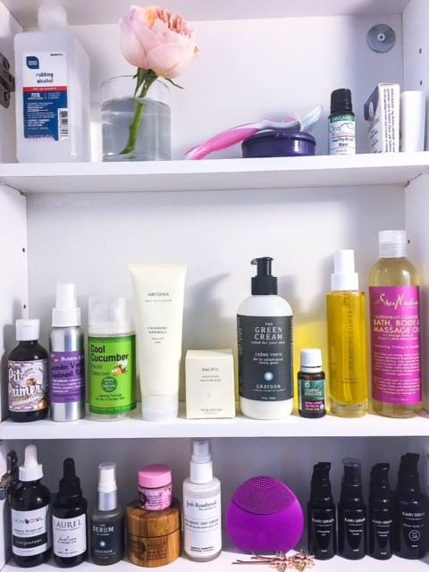 Beauty Shelfie - August 2016 • chidibeauty.com