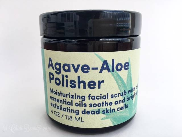 Beija Flor Naturals Agave Aloe Polisher • chidibeauty.com