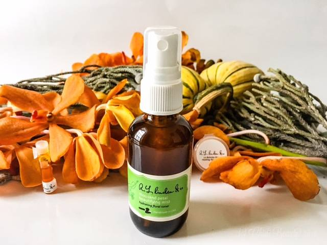 R.L. Linden & Co. Thousand Petal Beautifying Mist La Balmba Rosa and Frankincense Serum Skincare • chidibeauty.com