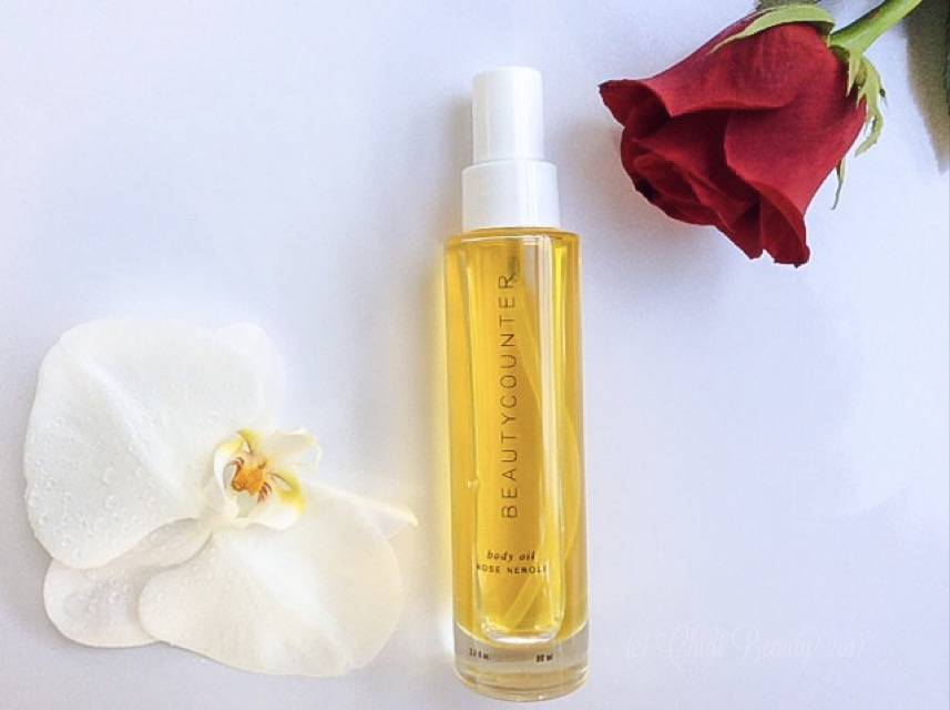 Valentine's Day Gift - Beautycounter Rose Neroli Body Oil