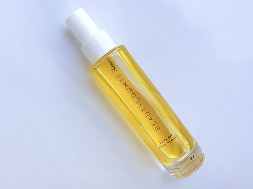 Beautycounter Body Oil in Rose Neroli