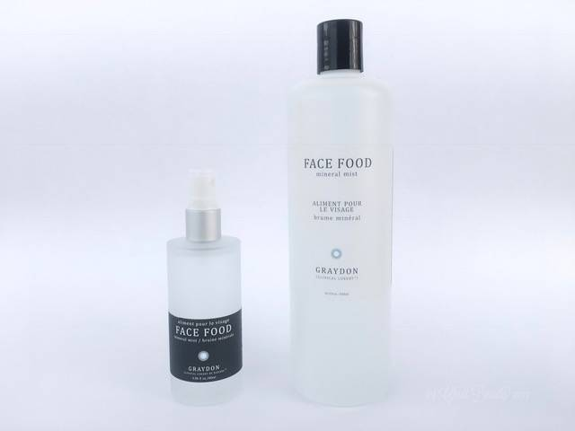 Graydon Face Food Mineral Mist | Green Beaauty Toner for Problem Skin