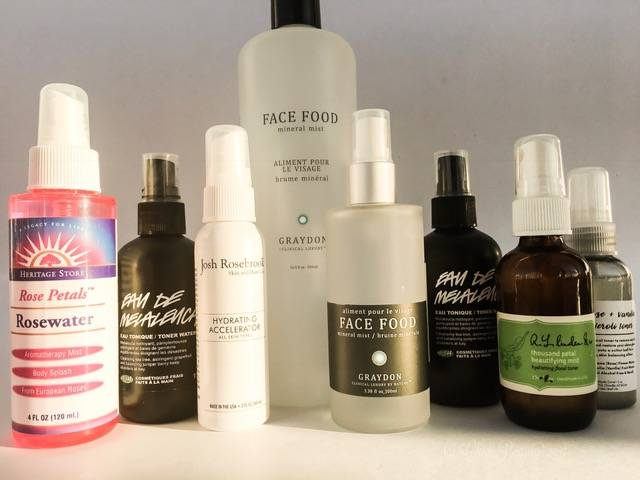 Green Beauty Face Mist and Facial Toners for Acne Prone Skin