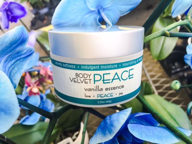 Live Inspired Organics Body Velvet Body Butter Peace Vanilla Spice