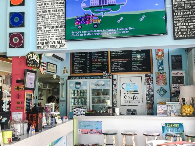Ben & Jerry's Breakfast in Condado Puerto Rico