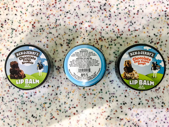 Ben & Jerry's LIP BALM INGREDIENTS