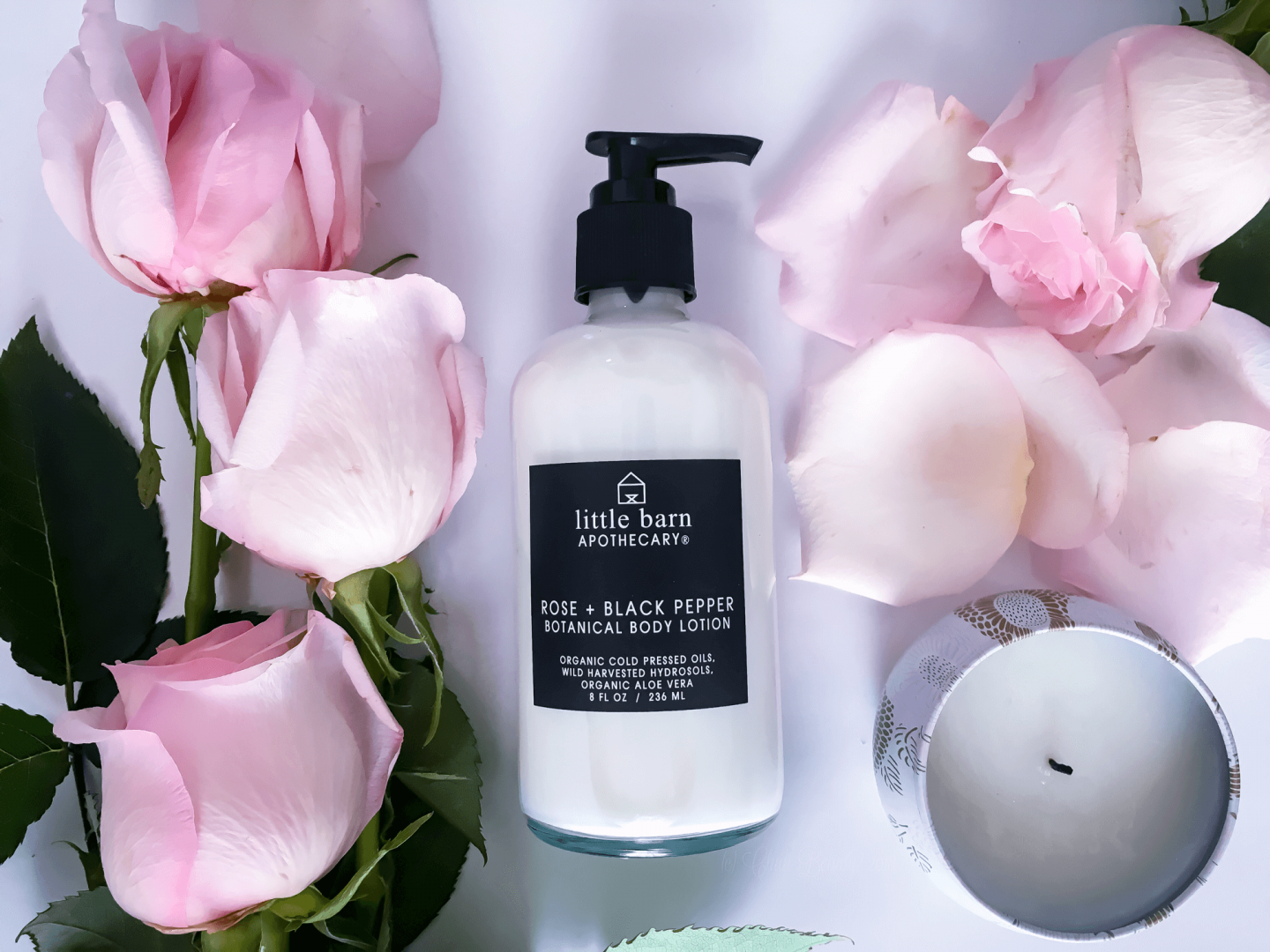 Little Barn Apothecary Rose Body Lotion • chidibeauty.com